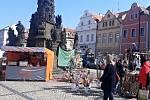 Žatecké náměstí ožilo Velikonocemi