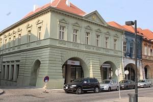 Městská knihovna Žatec.