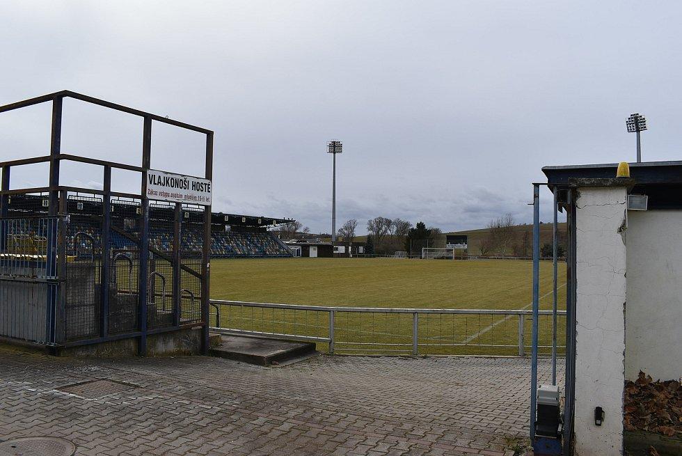 Fotbalový areál v Blšanech.
