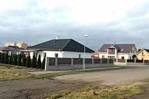 Nové rodinné domy na Kamenném vršku. Archivní foto