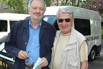 Jiří Kubovský (vpravo) s Milanem Lasicou.
