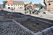 Rekonstrukce Husitského náměstí v Žatci