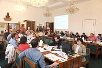 Zasedání žateckých zastupitelů 8. dubna 2009.
