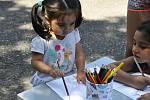 Už potřetí uspořádala Jarmila Feriová nejen pro romské děti dětský den v Lounech.