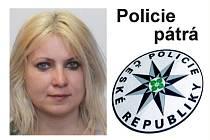 Žena, po které pátrá policie.
