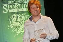 Nohejbalista Ondřej Vít se stal nejlepším sportovcem okresu Louny za rok 2015.