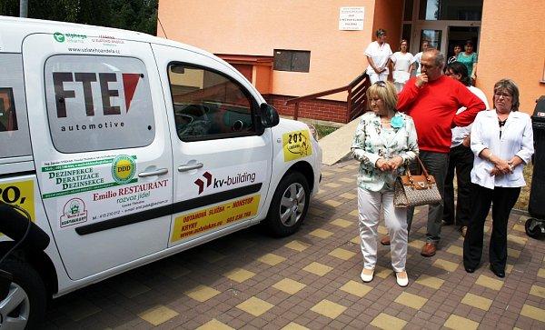 Nový automobil Pečovatelské služby Podbořany