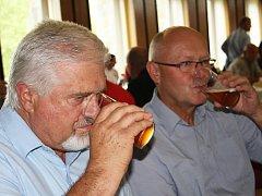 Tradiční degustace piv v Chmelařském institutu Žatec v rámci 58. Dočesné.