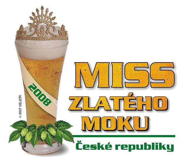 Logo soutěže Miss zlatého moku 2008