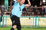 Žatec (v zeleném) nestačil na Vilémov, prohrál 0:3.