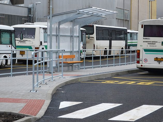 Nové soukromé autobusové nádraží v Podbořanech