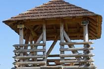 Rozhledna Stradonka, možná nejmenší v ČR