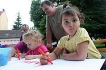 Dětský den za Lidovým domem v Žatci