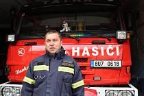 Miroslav Hylák je velitelem dobrovolných hasičů v Postoloprtech