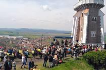 Sobotní oslavy 110 let od vybudování a otevření Schillerovy rozhledny v Kryrech u Podbořan.