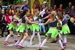 Během odpoledne proběhlo několik zajímavých tanečních ukázek