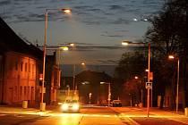Nově osvětlené přechody v Postoloprtech