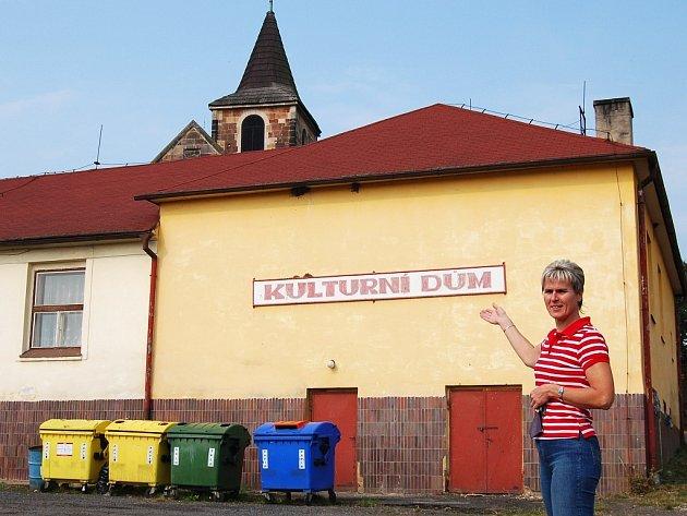 Starostka Marta Hessová je pro zbourání.