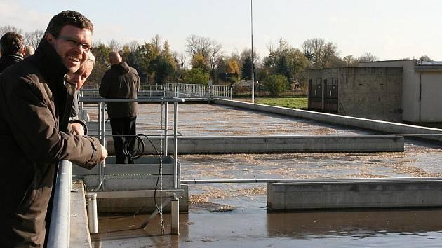 Zrekonstruovaná čistírna odpadních vod v Lounech