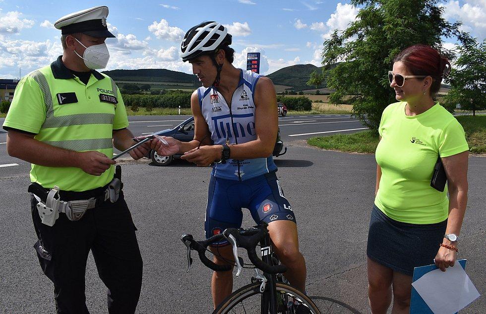 Policisté pod Červeňákem kontrolovali cyklisty