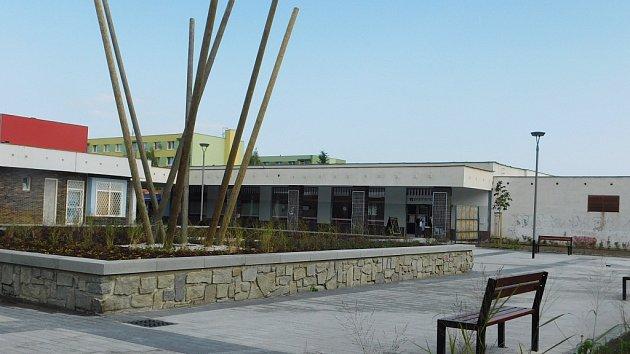 Náměstí Poperinge v Žatci po rekonstrukci