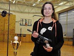 Adéla Tomanová z SKP UNITOP Louny