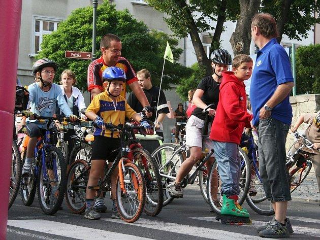 Louny zažily další ročník akce Město na kolech.