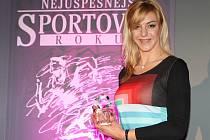 Lucie Záleská s celou pro vítěze loňského ročníku ankety