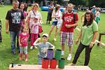 Dobročinný dětský den na podporu Klokánku vŽatci se konal ve Staňkovicích, 2013.