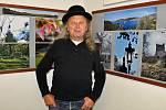 """Sedmdesátku oslavil perucký fotograf Miroslav """"Plazík"""" Blažek výstavou ve vlastní galerii."""