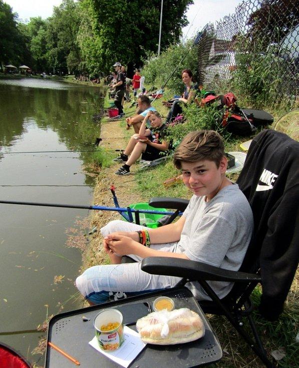 Rybářské závody v Podbořanech.