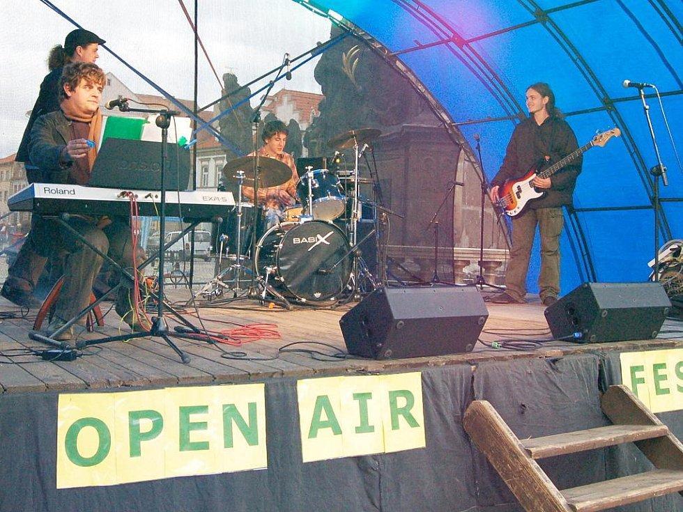 Open air festival v Žatci.