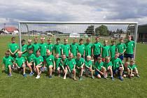 Fotbalové děti v Cítolibech.