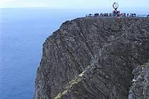 Útes v norském Nordkappu