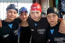 Žatecká děvčata si vedla na Poháru ČR v plavání skvěle. Dvě stříbrné medaile ze štafet a čtyři individuální cenné kovy Elly Pohoriljak jsou toho důkazem.