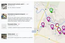 Radnice začala konečně na stránkách aplikace Lepší místo reagovat na tipy od občanů