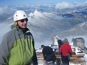 Luboš Peterka na vrcholu Grossvenedigeru (3662 m.n.m)