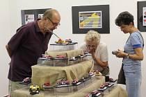 V žateckém muzeu vystavují papírové modely.