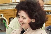 Radmila Holodňáková na archivním snímku