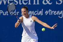 Česká tenistka Karolína Plíšková potvrzuje na zámořské tisícovce formu.