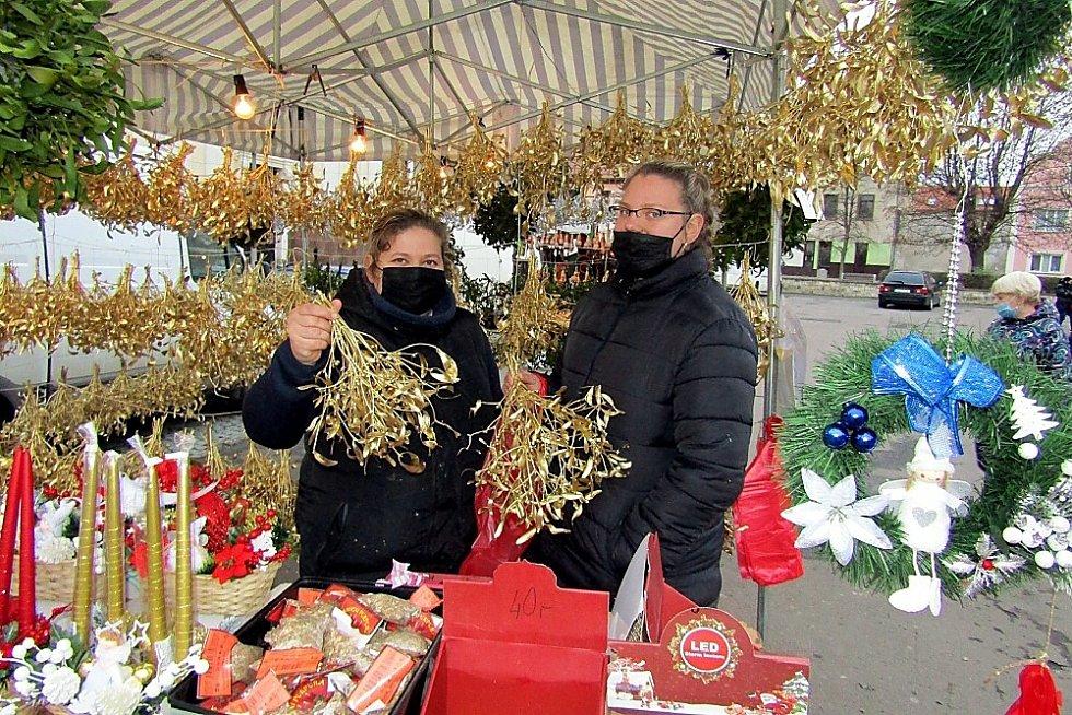 Adventní trh v Postoloprtech.