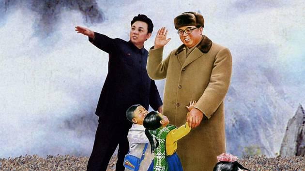 Jak se žije obyčejným Korejcům? To z našeho obrázku jen těžko poznáte. Zato ve filmu Kimčongilie ano...