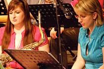 Koncert Big Bandu ZUŠ Louny.