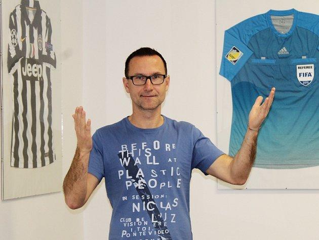 Radek Příhoda, fotbalový rozhodčí a ředitel Správy sportovních zařízení města Loun.