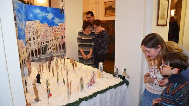 Neobvyklý betlém je nyní k vidění v Regionálním muzeu K.A. Polánka v Žatci.