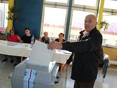 Komunální volby v žateckém podměstí.