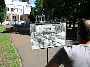 Výstava historických pohlednic na lounském výstavišti