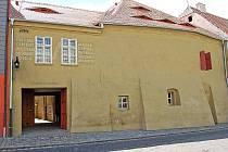 Galerie Sladovna v Žatci na archivním snímku