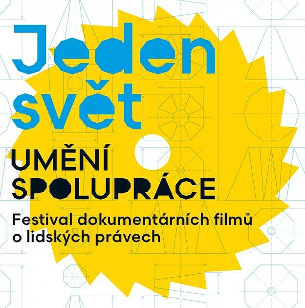 Logo festivalu dokumentárních filmů Jeden svět