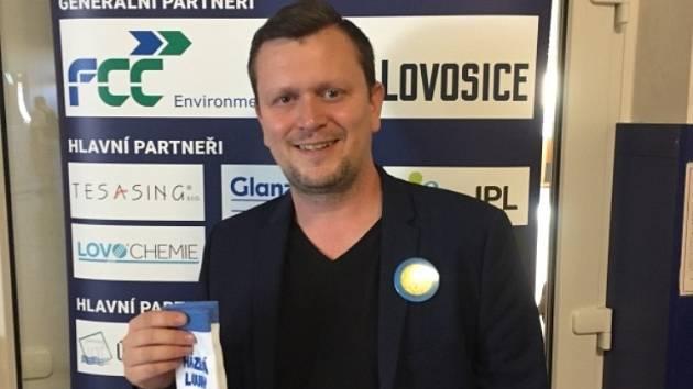 Jan Macháček, nový ředitel Lounské správy plaveckých areálů. Ilustrační foto